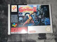 Super Castlevania 4 snes Super Nintendo nes Top Zustand Mint