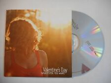 VALENTINE'S DAY : WHATEVER YOU WANT ▓ CD ALBUM PORT GRATUIT ▓