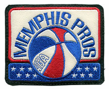 "1971-72 MEMPHIS PROS ABA BASKETBALL HARDWOOD CLASSICS 3.75"" TEAM LOGO PATCH"