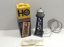 MARX TOYS LIGHTED WATER TOWER ACCESSORY - BUBBLE TUBE POSTWAR - ORIGINAL BOX