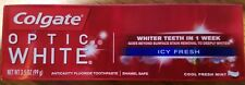 New 3.5 oz. Colgate Optic White Toothpaste, Icy Fresh 5.50ea when U Buy All 2