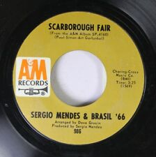 Pop 45 Sergio Mendes & Brsail '66 - Scarborough Fair / Canto Triste On Am Record