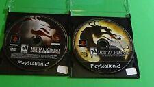 Mortal Kombat Armageddon, Deception (PlayStation 2) - Lot of 2 Game Discs Only