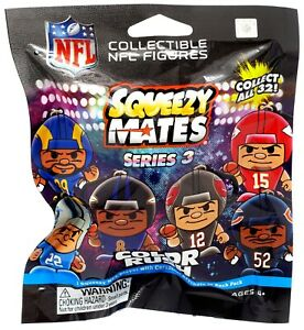 NFL Series 3 Color Rush Squeezy Mates  Pack