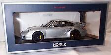 Porsche 911 GT2 2007 Silver 1:18 SCALE New in box