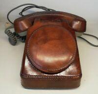 Ancien Téléphone Fixe So.Co.Tel S63 Avec House Cuire  octobre 1979 Vintage, Déco