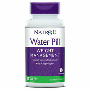 Natrol Water Pill, 60 Tabs, Weight Control