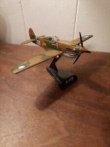 Postage Stamp Planes 1:90 P-40B Warhawk AVG Flying Tigers Charles Older White