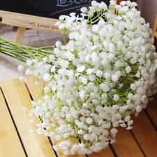 3Pcs Artificial Fake Silk Flowers Gypsophila Home Party Wedding Decor Bouquet uk