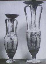 Greek Wedding Vases, Athens National Museum, Magic Lantern Glass Slide