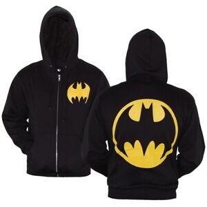 Batman Symbol Zip-Up Hoodie