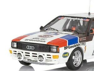 Trofeu 1:43 Audi Quattro #17 Goodrich Motorsport RAC Rally,1984 Buffurn/Wilson