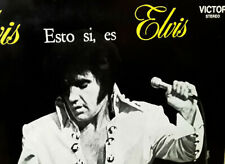 ARGENTINA Original 1971 Esto Si Es Elvis LP THAT'S THE WAY 1st Stereo LP ROCK'N