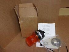 Federal Signal Lp3m Amber Strobe Flashing Light New