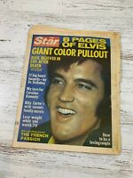 ELVIS PRESLEY Death THE STAR Newspaper Issue w 8 Page Pullout September 20, 1977