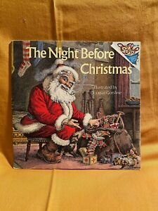 "The Night Before Christmas Vintage ""Please Read Me"" picture book classic child"