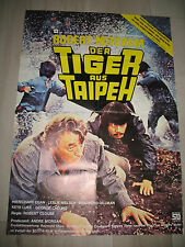 Der Tiger aus Taipeh KINOPLAKAT A1 Amsterdam Kill Robert Mitchum Chen Sing Rich