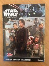 Topps Star Wars Rogue One Sticker 100 pochettes//500 STICKERS