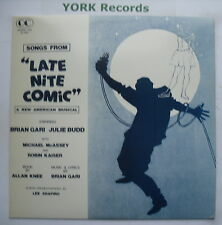 LATE NIGHT COMIC - Cast Recording - Excellent Condition LP Record OC 8843