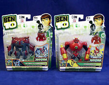 """New ARMODRILLO & ULTIMATE CANNONBOLT - TWO 4"""" Ben 10 HAYWIRE Action Figures MINI"""