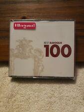 Various Artists : 100 Best Baroque Classical Artists 6 Discs CD