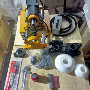 1Set 220V 40mm Portable Line Boring Machine Engineering Mechanical New