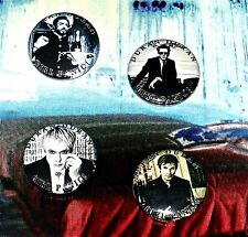 4 Buttons & FREE DURAN DURAN Music Video & Remix 5 DVD Set 105 Videos Paper Gods