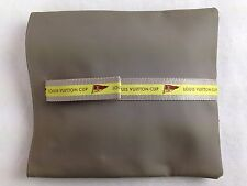 Auth LOUIS VUITTON CUP Pouch Bag PVC Gray 5F160070#