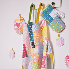 Quality New Women's Bright Colorful Patch Print Kitchen Apron