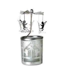 Tea Light Spinning Carousel - Cherubs -Gift/Home Decoration