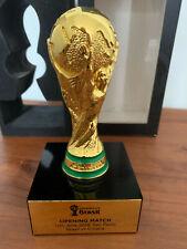 FIFA World cup trophy 2014 Opening Match Brasil-Croacia 2014 original Fifa