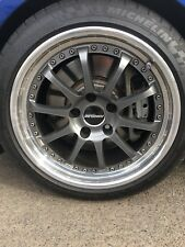 "Forgeline ZX3 18"" Wheels & Michelin Super Sport Tires 5x120 BMW 335i Series 3"