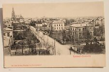 27781 AK Radebeul Serkowitz Straße mit Kirche um 1908