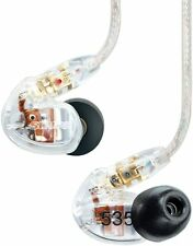 Shure SE535 Sound Isolating Earphones (Clear) Earbuds