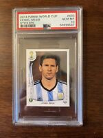 2014 Panini World Cup Stickers Lionel Messi PSA 10 GEM MINT | #430 Argentina
