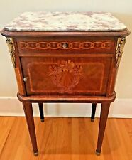 Tables Rare 19th Century French Mahogany Tiered Table W/ Women Strict Accepting Best Offers! Antiques