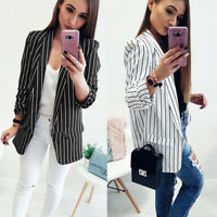 Women Slim OL Suit Casual Blazer Jacket Coat Tops Outwear Long Sleeve Fashion