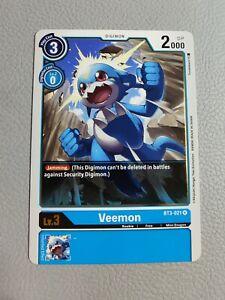 Veemon | NM/M | BT3-021 R | Digimon CCG