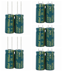 35v1000uf JCCON power adapter high frequency low resistance capacitor 10x20