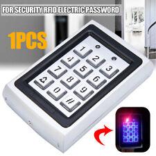 Metal Waterproof Password Keypad Access RFID Card Reader Door Control System