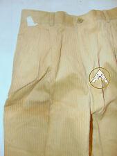 Vintage 80 CLIPPER 42 S Pantaloni Velluto Marrone Trousers Caldi Velvet Beige