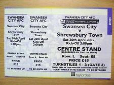 L Football League Fixture Tickets & Stubs (2004-Now)