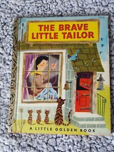 "THE BRAVE LITTLE TAILOR ~ 1953 1st ""A"" ed. Little Golden Book #178"