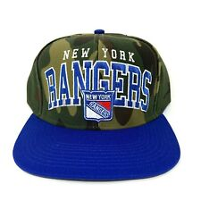 New York Rangers Snapback Hat Camouflage Adjustable Reebok Cap NHL Hockey