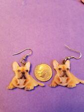 French Bulldog lightweight fun earrings jewelry Free Shipping! Design 1 of 2