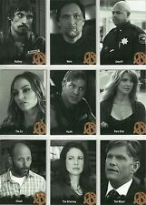 Sons of Anarchy season 4 - 5 : 9 card Character set C12 - C20