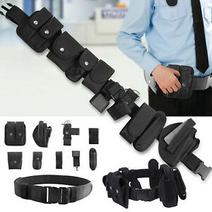 Tactical Police Duty Belt Security Guard Law Enforcement Waist Equipment Belt