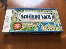 1985 Scotland Yard Detective Board Game from Milton Bradley 100% Complete