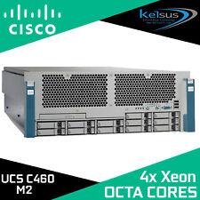 Cisco UCS C460 M2 4x Octa-Core Xeon E7-4830 2.13GHz 128GB UCSC-BASE-M2-C460 V01