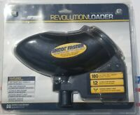 JT Paintball View Loader Revolution Classic Electronic Hopper - Black